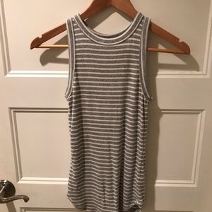 Cute gray striped Tank